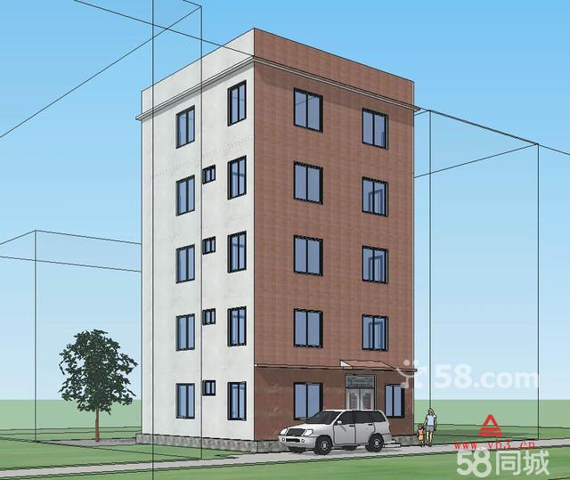 农村普通二层楼房设计 图 土巴兔装修效果图-农村普通民房设计图 农村