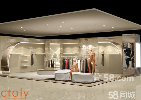 商场边厅设计