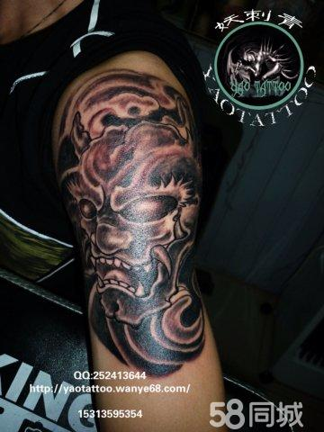 恶魔齐天大圣纹身手稿分享展示