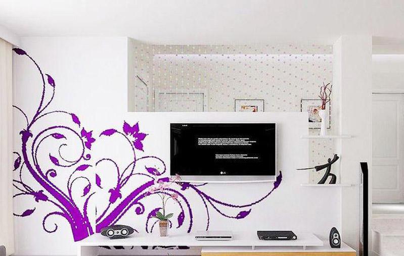 成都墙绘,电视背景墙
