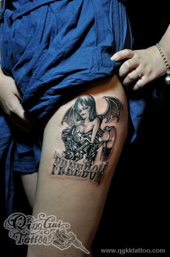 成都纹身 清鬼刺青