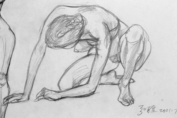 绘画身体步骤图片