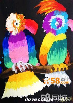 图图乐创意儿童绘画中心(杨浦五教学点)-印象色彩班