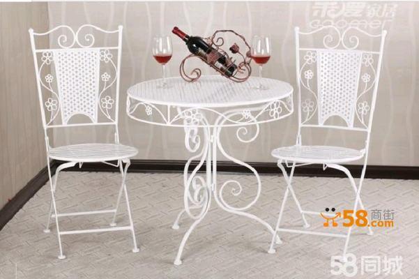 欧式时尚休闲桌椅办公桌椅 一桌两椅