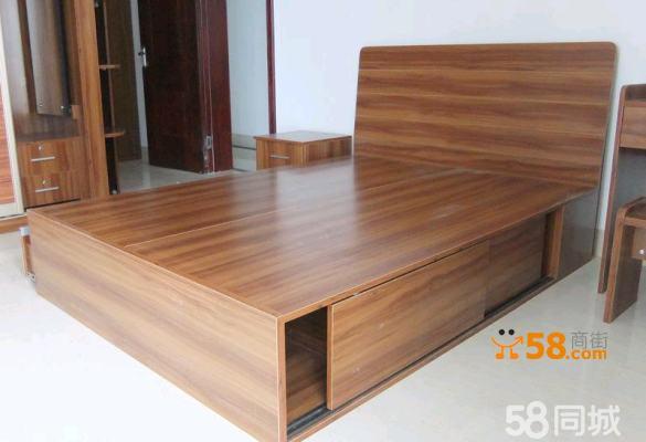 南宁家具定制定做家具实木床储物床双人床定做1.5米