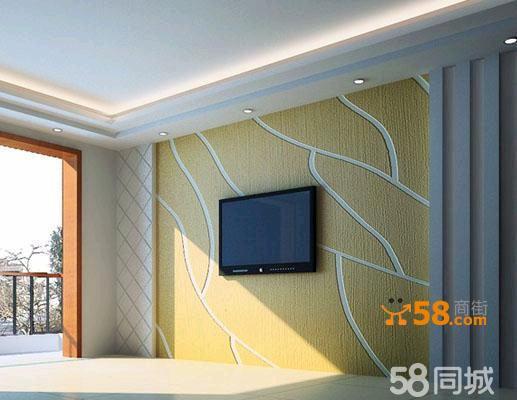 硅藻泥电视背景墙—58商家店铺
