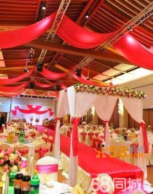 红色系主题婚礼策划西式婚礼定制